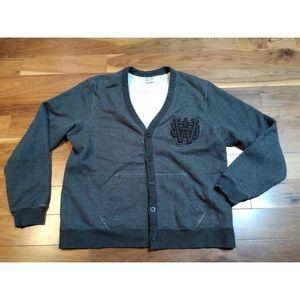 Nike Sportswear Mens XXLT Cardigan Sweater Varsity